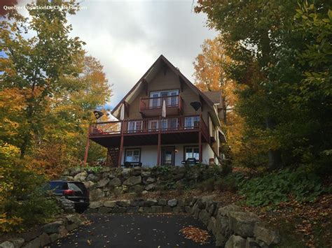 chalet mont sauveur cottage rental qu 233 bec laurentides sauveur the 158 panoramic view id 7912