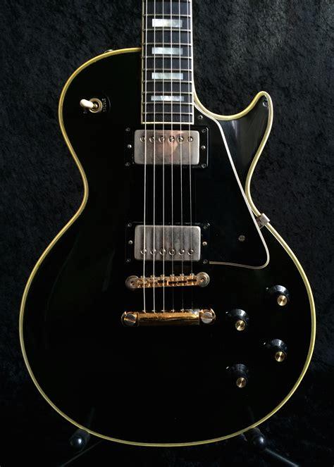 gibson les paul custom 1969 black guitar for sale richard