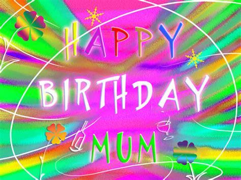 happy birthday mum  joyful text   mom dad