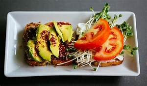 food toast healthy food food photography avocado healthy lunch ideas red quinoa process ...