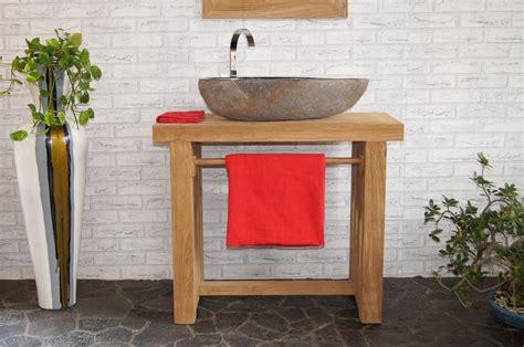 Waschbecken Mit Holz by Waschbecken Unterschrank Holz Wohn Design