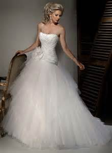 wedding dress with corset scoop neckline floral satin tulle gown corset wedding dresses prlog