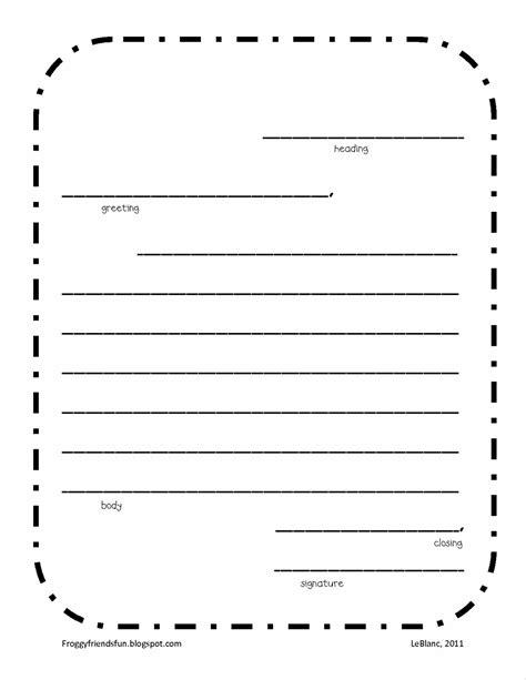 friendly letter template printable vastuuonminun