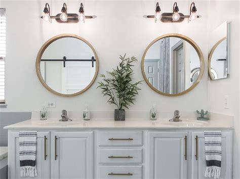 Brass Bathroom Mirror by Bathroom Mirror Ideas Brass Mirror In Bathroom