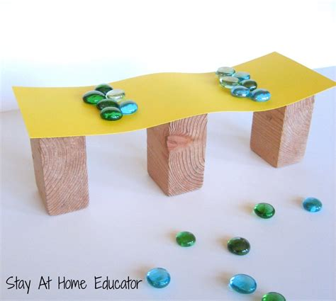 build and test in bridges theme in preschool 358 | Testing Bridges in Preschool Stay At Home Educator 1000x897