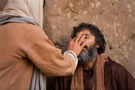 Cristo Sana A Un Hombre Ciego
