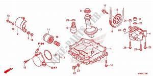 Oil Filter Oil Pan Oil Pump For Honda Cb 1000 R Abs White