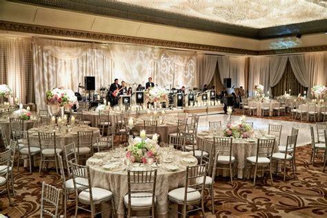 church wedding ceremony luxe ballroom reception in