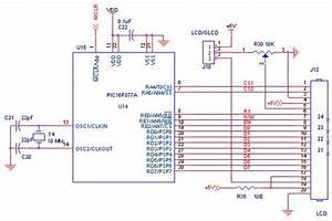 How To Interface Lcd With Pic16f877a Pic Development Board
