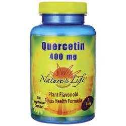 Nature's Life Quercetin 400 mg 100 Veg Caps - Swanson Health Products  Sinusitis Quercetin