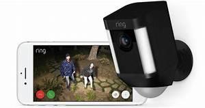 Home Depot: 2-Pack Ring Spotlight Outdoor Security Cameras ...