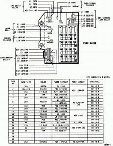 Fuse Box Diagram For A 1994 Dodge Dakota