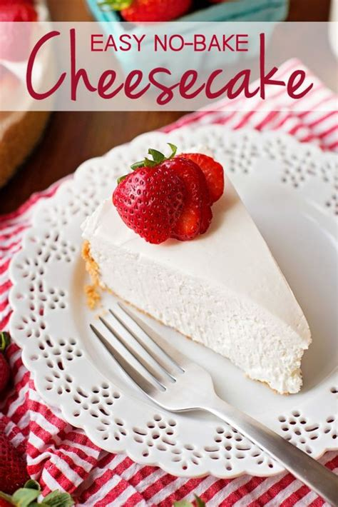 easy cheesecake recipe no bake duke cheesecake recipes and read more on pinterest