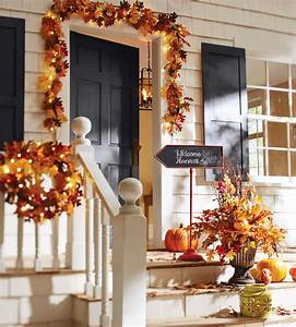 Fall Decorating Ideas For Your Front Porch and Entryway