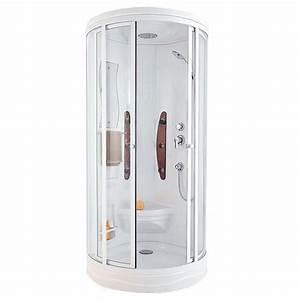 Cabine De Douche Intégrale 80x80 : la cabine de douche int grale douche cabine de douche cabine et zeste ~ Dallasstarsshop.com Idées de Décoration