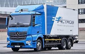 Mercedes Poids Lourds : 10 poids lourds mercedes eactros entrent en service ~ Medecine-chirurgie-esthetiques.com Avis de Voitures