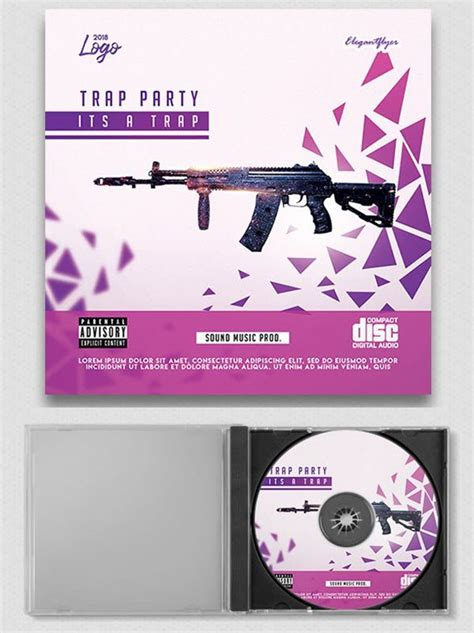 Free Multipurpose Brochure In Psd By Elegantflyer Collection Of Multipurpose Free Cd Cover Templates In Psd
