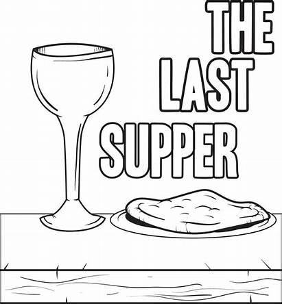 Supper Coloring Last Printable Pages Crafts Bible