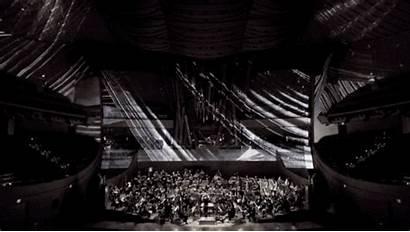 Concert Disney Hall Walt Laser Canvas Into