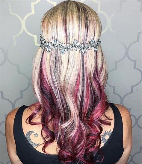 ideas  bold hair color  pinterest bright