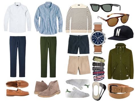 Men Spring Fashion Essentials Style Guide Styles