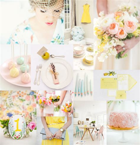 pastel wedding colors pastel wedding colors elizabeth designs the