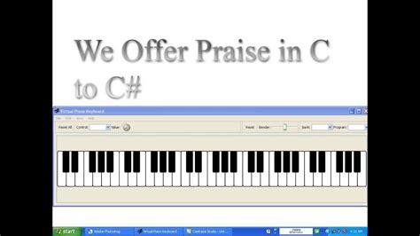 We Offer Praise By Jt (rodney Bryant) On Keys (midi)