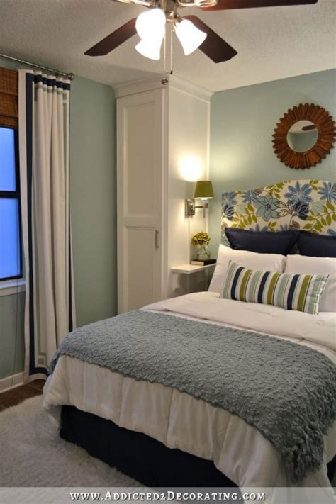 Decorating Ideas For Master Bedroom On A Budget by Small Condo Small Budget Bedroom Makeover Before