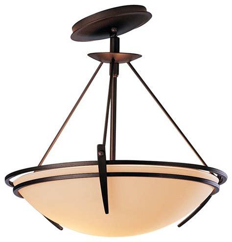 asian flush mount ceiling light presidio tryne bronze 16 1 2 quot wide slope mount ceiling