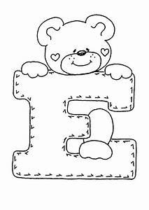 Buchstaben Basteln Vorlagen : ausmalbilder buchstaben e basteln pinterest ~ Lizthompson.info Haus und Dekorationen