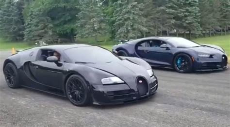 Bugatti has made some of the most coveted cars in history. Bugatti Chiron vs Veyron in Multi-Million Dollar Drag Race