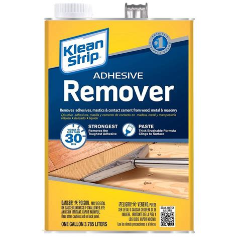 Tile Adhesive Remover Tool by Klean 128 Oz Adhesive Remover Gkas94325 The Home