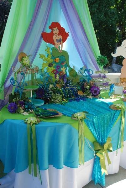 mermaid birthday party ideas photo walls