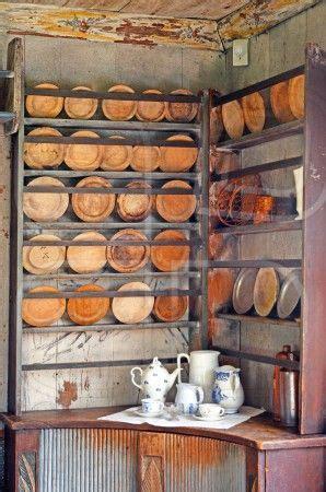 antik tallrikshylla plate shelf plates wood