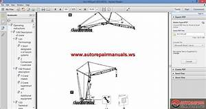 Liebherrr Mobile Crane Ltm 1400-7 1 Operating Instruction