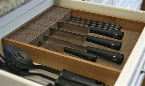 Kitchen Drawer Knife Organizer  Home Design Ideas