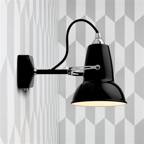 buy anglepoise original 1227 mini wall light jet black