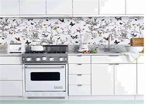 Kitchen Wallpaper Ideas Decor Modern On Cool Simple And ...