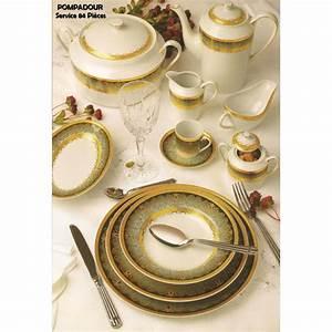 Service A Vaisselle : service de table porcelaine 84 pieces ~ Teatrodelosmanantiales.com Idées de Décoration