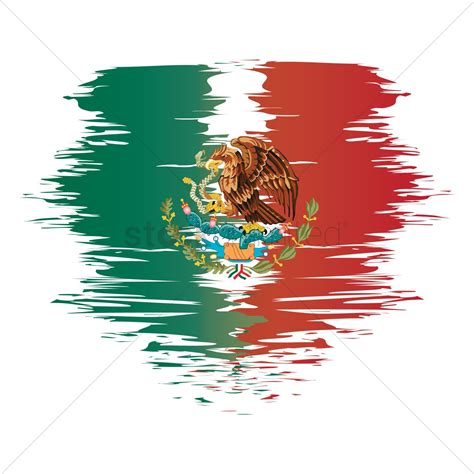 Mexico flag background Vector Image - 1582272   StockUnlimited