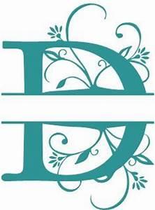 alphabets gt split monograms printables and stencils With cricut letter stencils