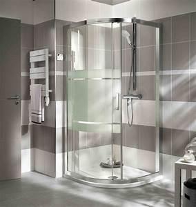 18 best meubles salle de bain images on pinterest With porte de douche coulissante avec modele salle de bain