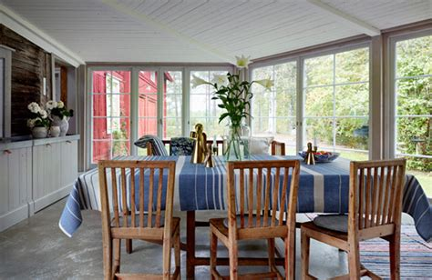 Eclectic Bachelor Retreat : Eclectic Retreat In Sweden