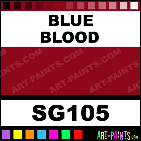 blue blood solid airbrush spray paints sg105 blue