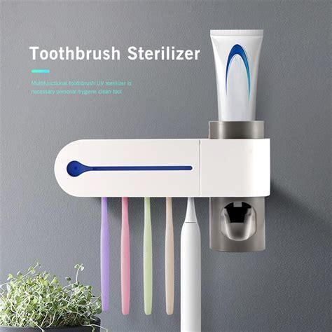 automatic toothpaste dispenser sterilizer uv light