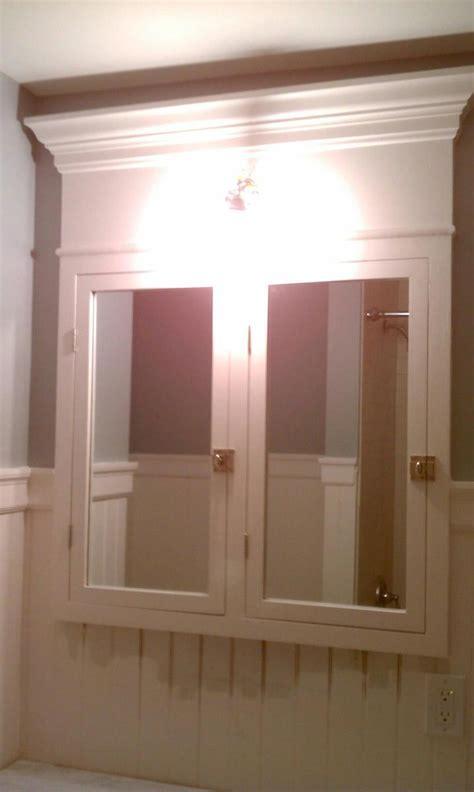 ana white custom built  medicine cabinet diy projects