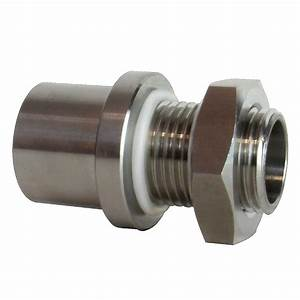 1  2 U0026quot  Stainless Steel Weldless Bulkhead
