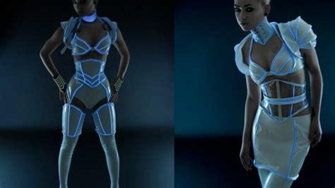 Hello Sexy Tron Inspired Costume