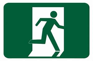 Emergency Exit signs - Reflective Exit Signs - Safety Signs