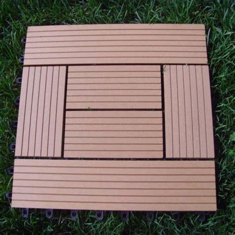 wood plastic composite decking tile edt meisen china